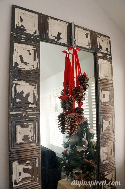 DIY Inspired Christmas Home Tour Living Room (2)