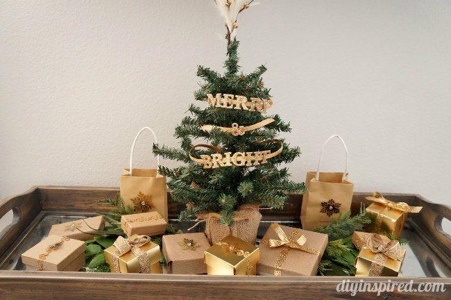 DIY Inspired Christmas Home Tour Living Room