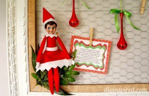 Elf on the Shelf Bad Day Poem Free Printable