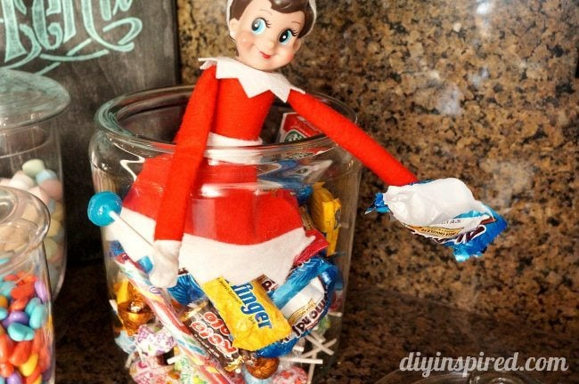 Elf on the Shelf Day 8a