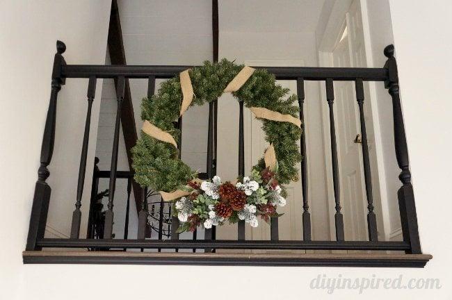 Entryway Christmas Wreath