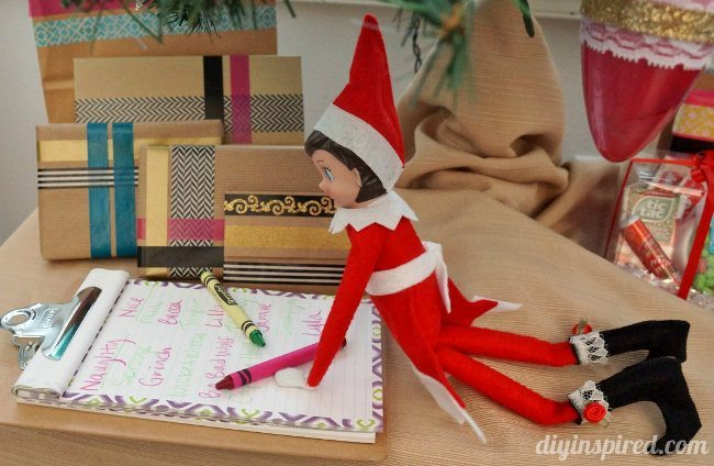 Last Minute Elf on the Shelf Ideas Day 11
