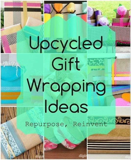 Wedding Gift Wrapping Ideas Pinterest : Upcycled Gift Wrapping Ideas - DIY Inspired