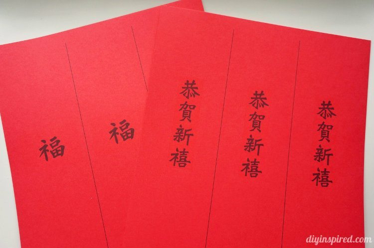Easy Chinese New Year Red Envelopes