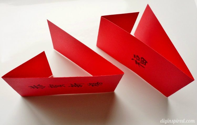 Easy to make Chinese New Year Red Envelopes