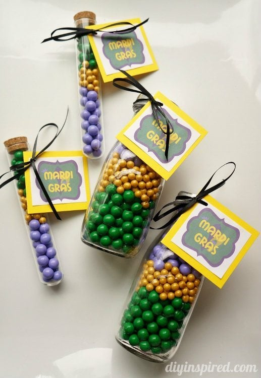 Mardi Gras Printable DIY Inspired