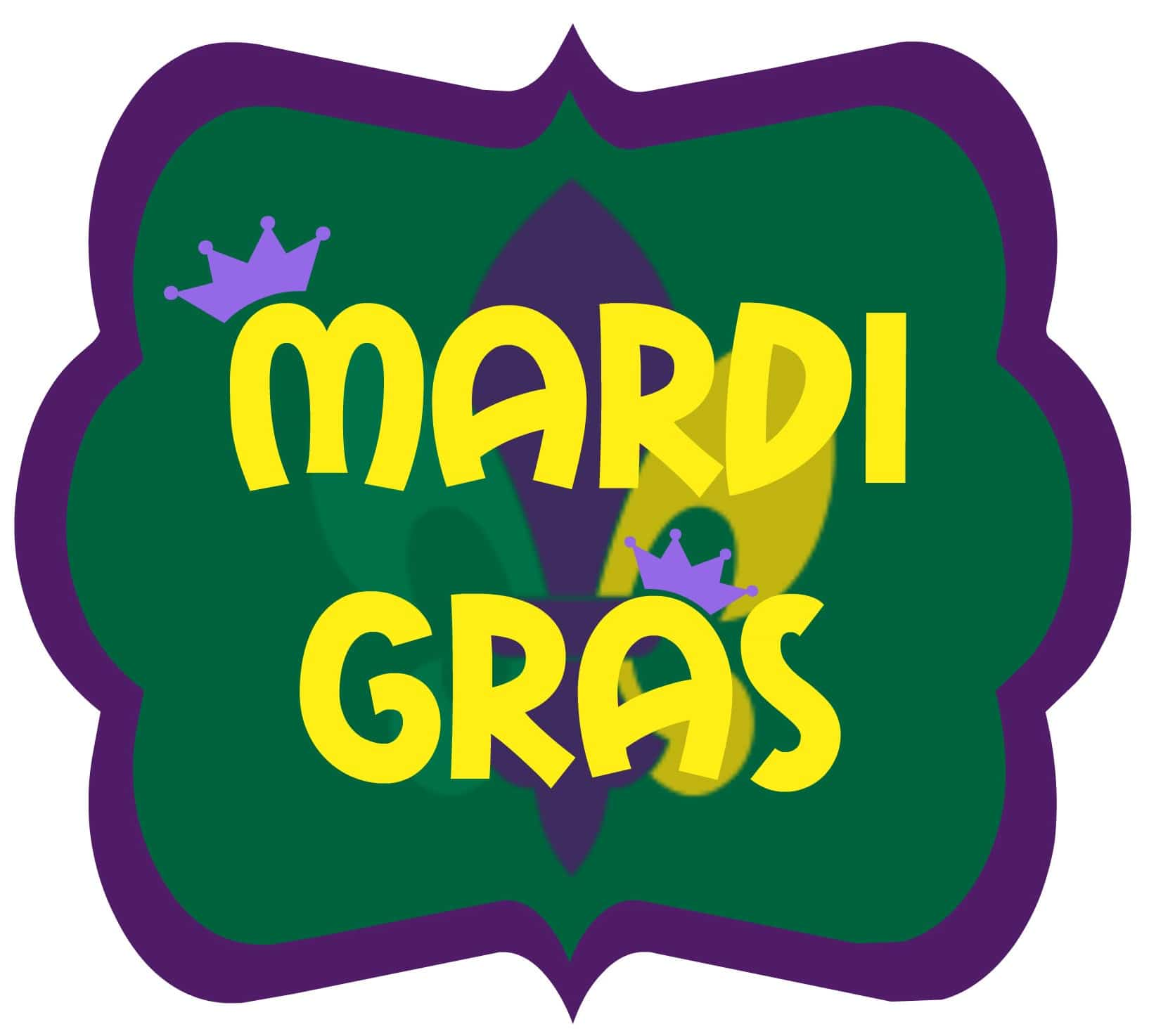 printable mardi gras decorations