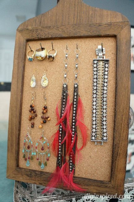 Repurposed Jewelry Organizing Ideas