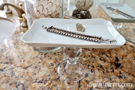 Thrift Store Jewelry Holder DIY