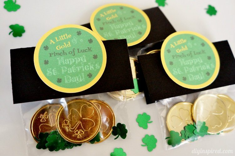 A Little Gold and a Pinck of Luck St. Patrick's Day Printable