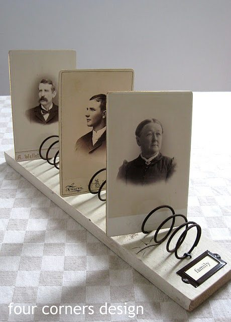 Bed Springs Photo Holder