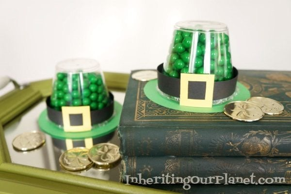 Candy Filled Leprechaun Hat Craft