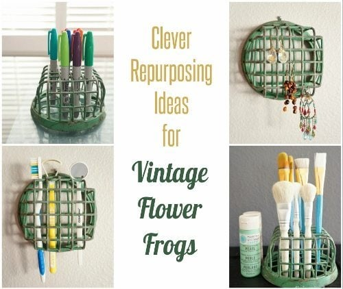 Clever Repurposing Ideas for Vintage Flower Frogs