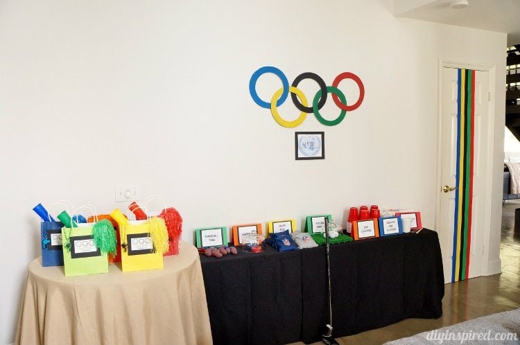 Decoration Ideas For A Olympic Themed Grad Blast | Party Invitations Ideas