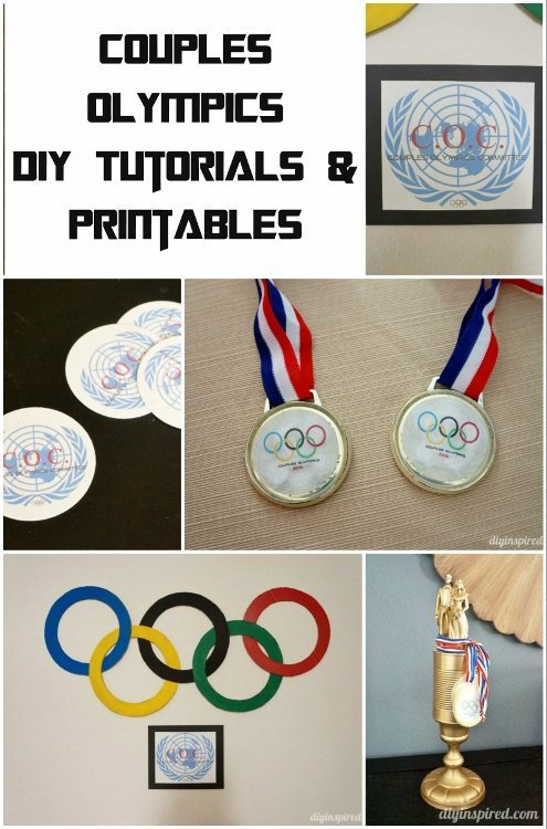 Couples Olympics Party DIY Tutorials