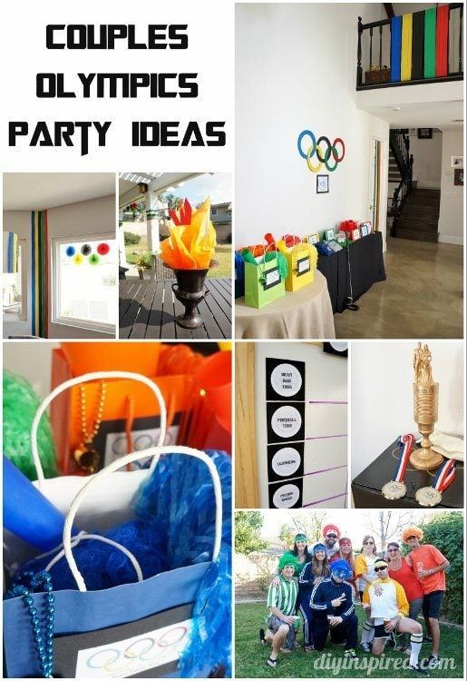Couples Olympics Party Diy Inspired