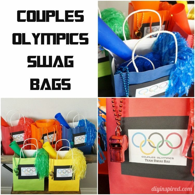 Couples Olympics Swag Bags