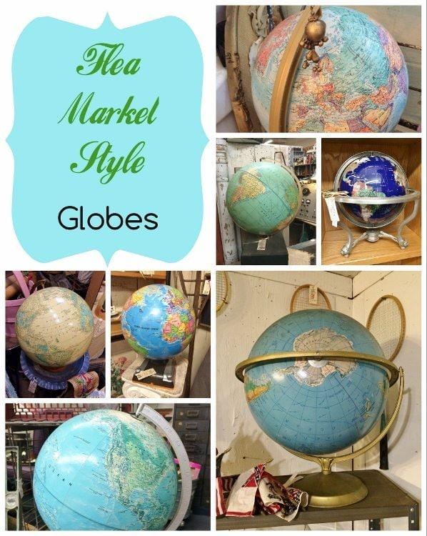 Flea Market Style Globes