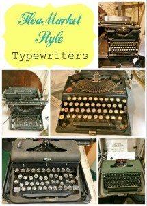 Flea Market Style Typewriters