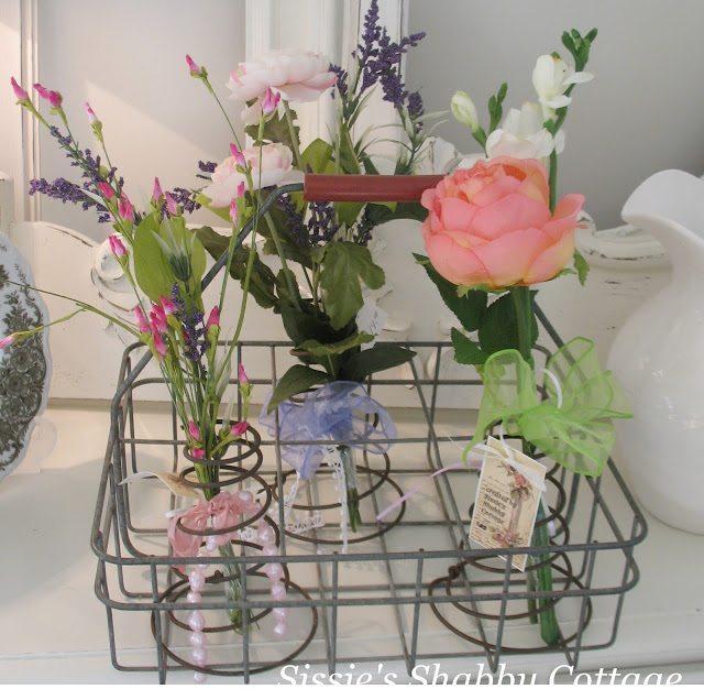 Flower Holder Bed Springs
