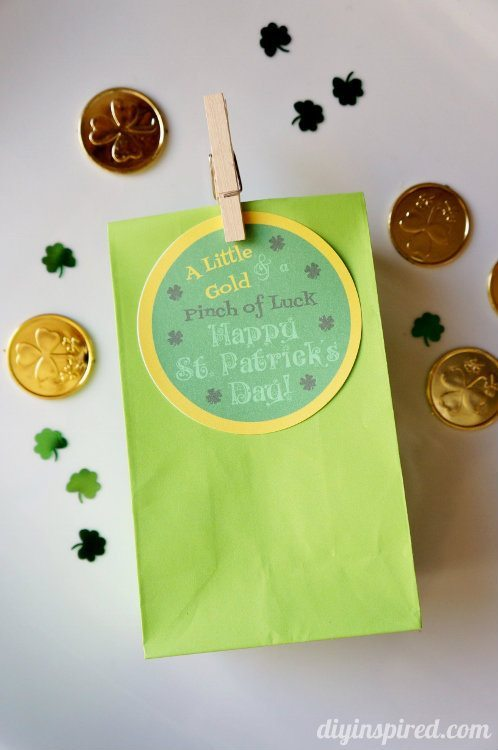 Good Luck Favor with Printable