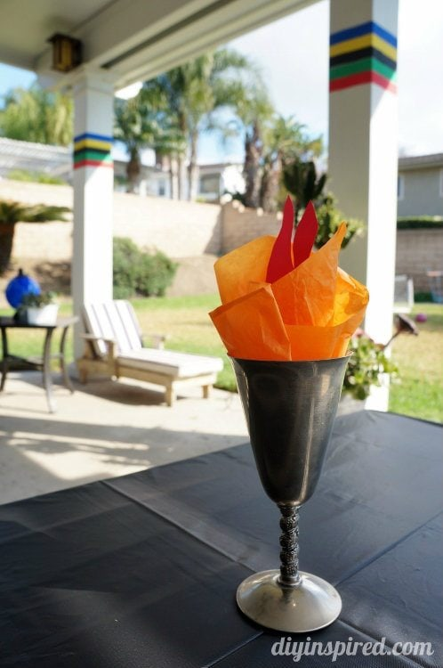 Olympic Torch Decoration Ideas (2)