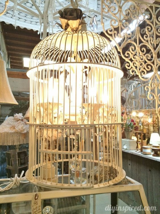 Repurposed Lighting Birdcage Chandeliers (2)