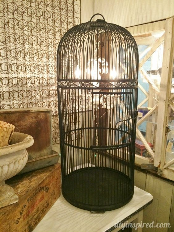 Repurposed Lighting Birdcage Chandeliers (3)