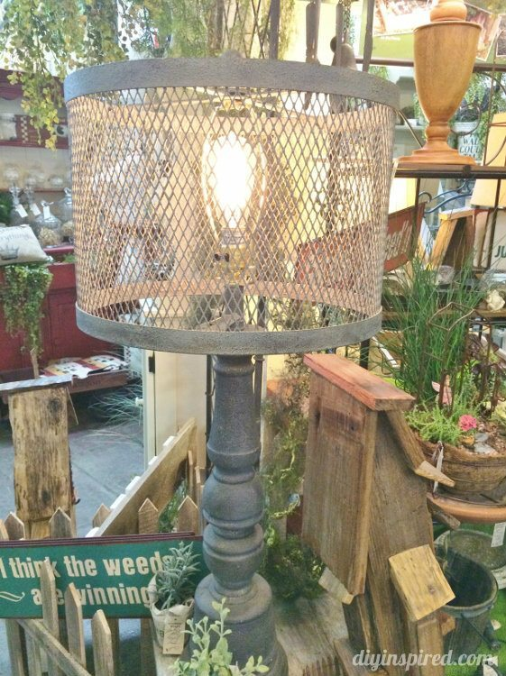 Repurposed Lighting Lamp