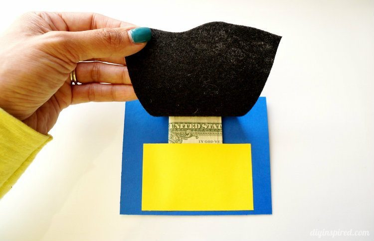 Superhero Money Envelope with Cape Tutorial