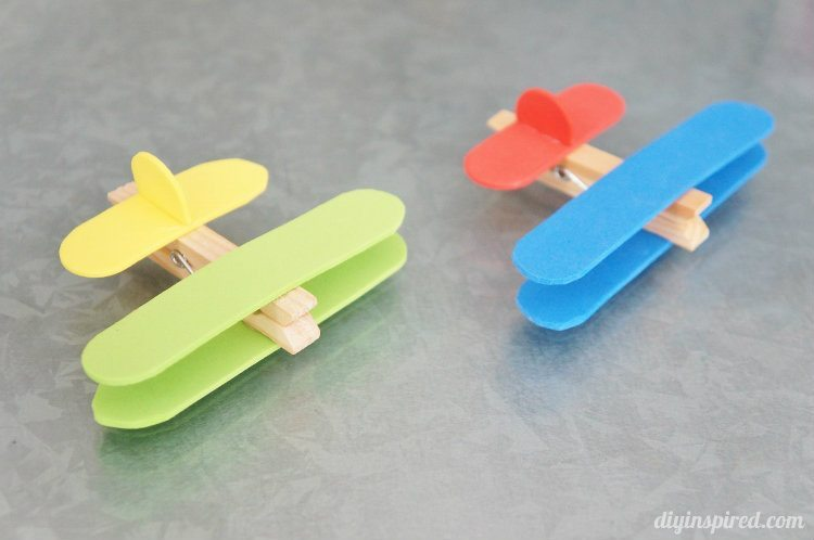 Http Www Diyinspired Com Airplane Clothespin Kids Craft