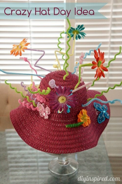 Crazy Hat Day Idea - DIY Inspired