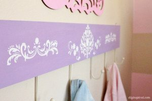 DIY Coat Hanger for Kids Trash to Treasure