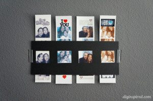 DIY Photo Strip Frame