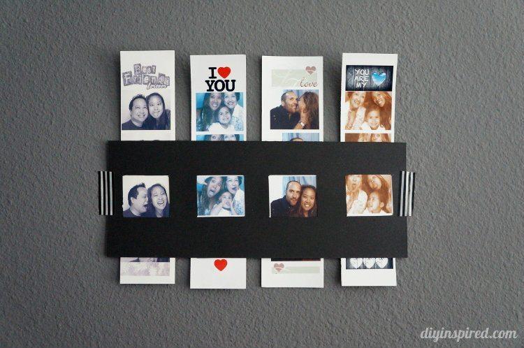 DIY Photo Strip Frame