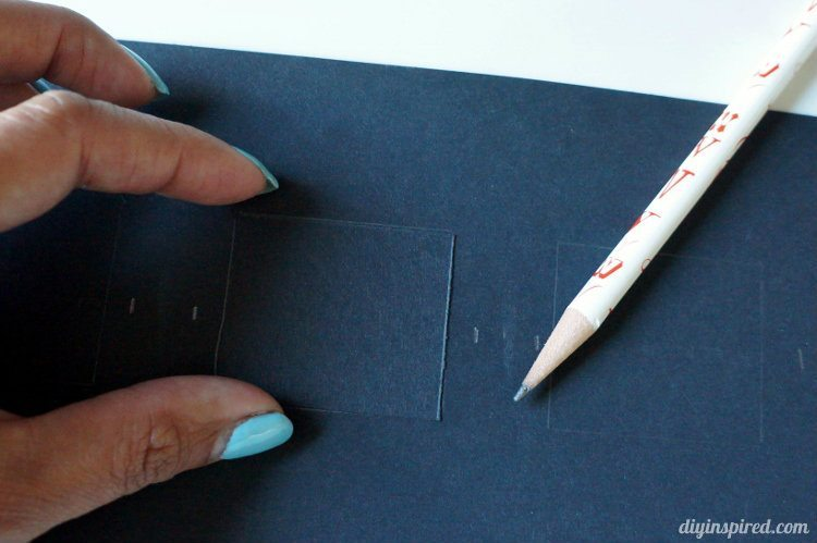 Paper Photo Strip Frame