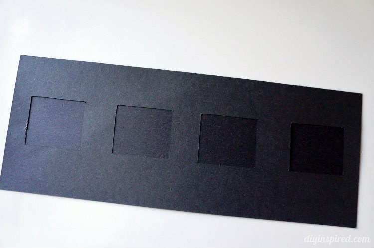 Sliding Photo Strip Frame