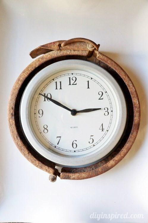 Trash to Treasure Clock