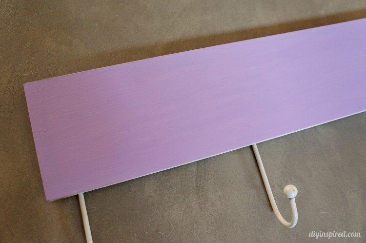 Upcycled Stenciled Coat Hanger