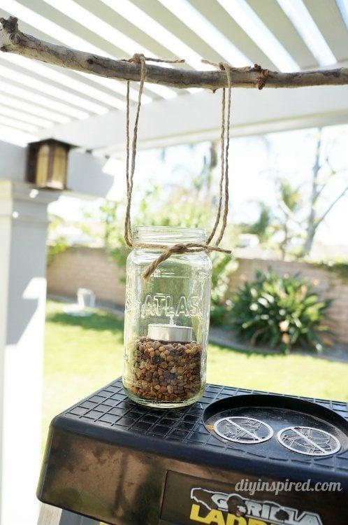 DIY Outdoor Mason Jar Chandelier DIY Inspired – Mason Jar Chandelier Diy