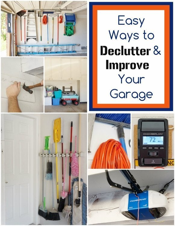 Easy Ways to Declutter and Improve Your Garage Collage