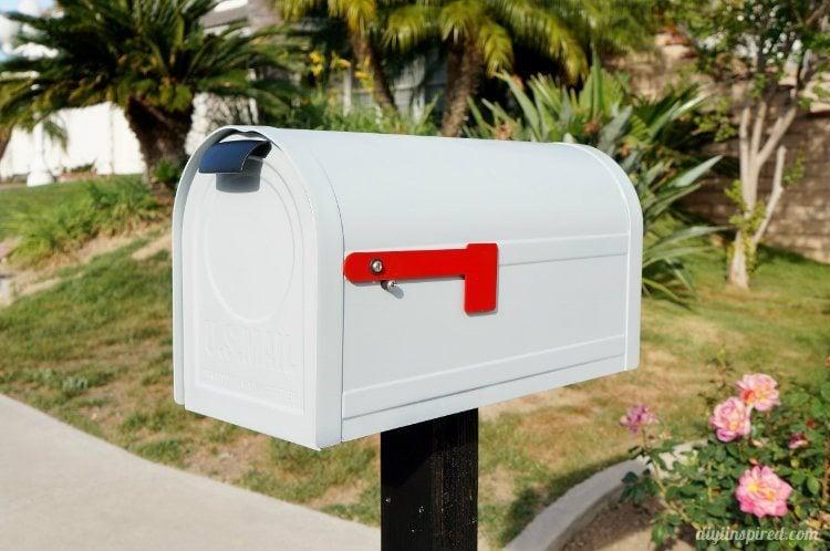 Mailbox Makeover DIY