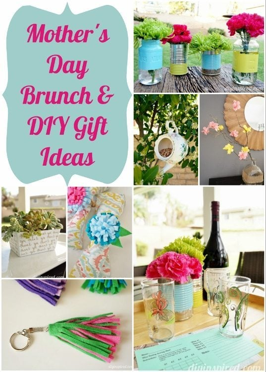 Mother's Day Brunch and Gift Ideas - DIY Inspired