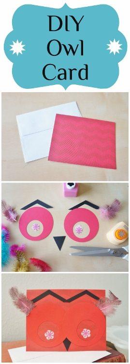 Owl Card DIY
