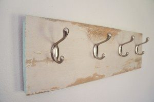 Repurposed Laminate Flooring Coat Hanger (10)