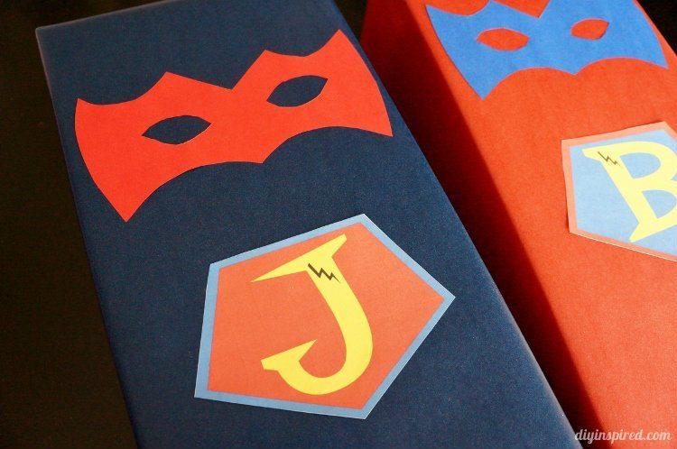 Superhero Gift Wrapping