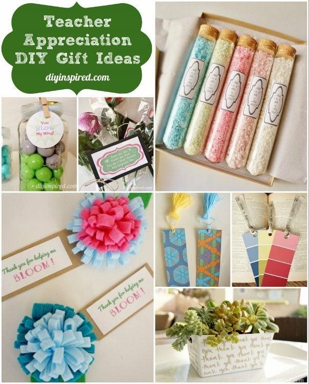 Teacher appreciation diy gift ideas diy inspired for Idea diy door gift