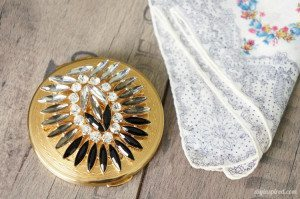Upcycled Vintage Compact Boho Inspired