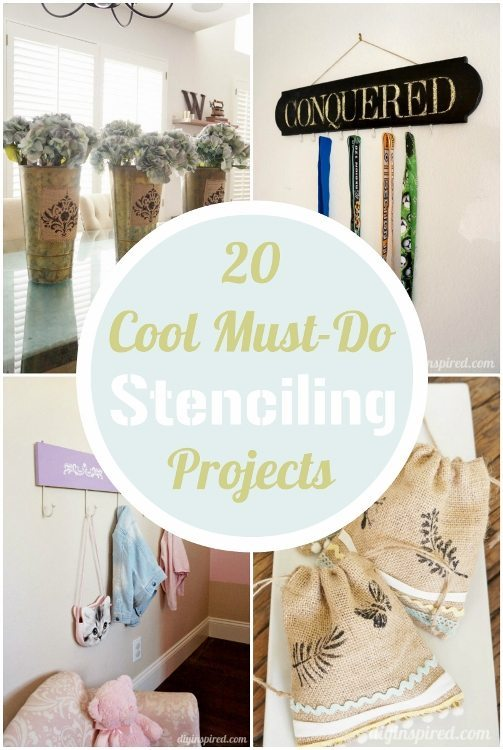 20 Cool Stenciling Craft Projects
