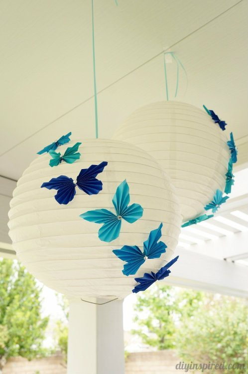 Accordion Butterfly Lanterns